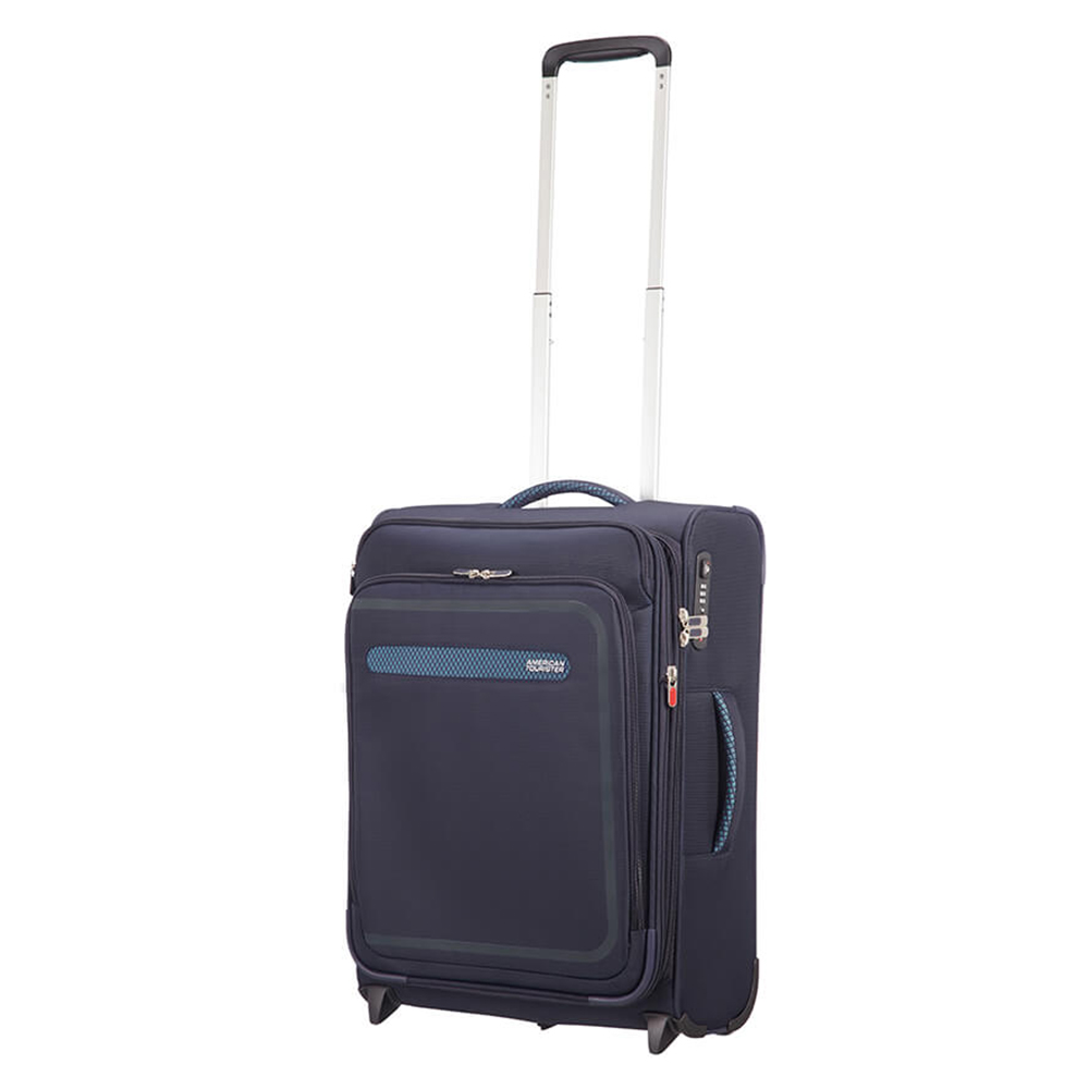 American Tourister Airbeat Upright 55 Exp. True Navy