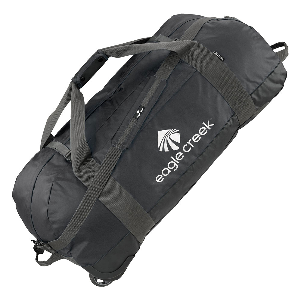 Eagle Creek No Matter What Rolling Duffel XL Black <br/>€ 149.95 <br/> <a href='http://tc.tradetracker.net/?c=10737&m=395139&a=107398&u=http%3A%2F%2Fwww.bagageonline.nl%2Feagle-creek-no-matter-what-rolling-duffel-xl-black.html%3Futm_campaign%3Dfeed' target='_blank'>Bestellen</a>