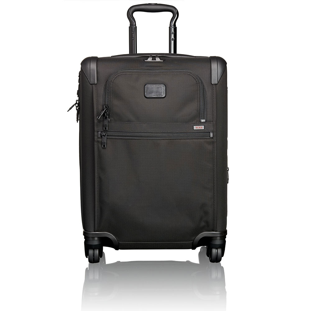 Tumi Alpha 2 Travel Continental Expandable 4-Wheel Carry On 56 Black