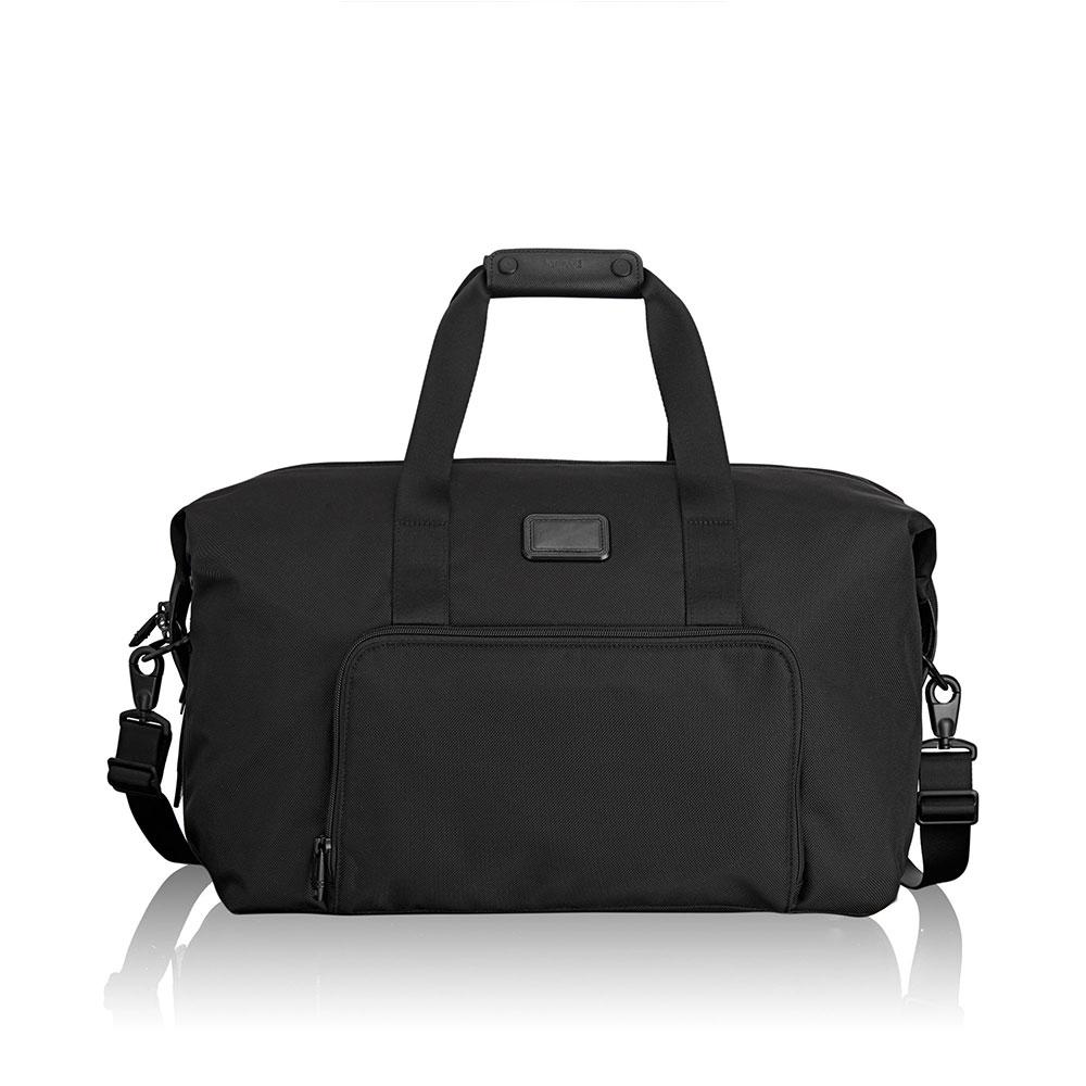 Tumi Alpha 2 Travel Double Expansion Travel Satchel Black <br/>€ 445.00 <br/> <a href='http://tc.tradetracker.net/?c=10737&m=395139&a=107398&u=http%3A%2F%2Fwww.bagageonline.nl%2Ftumi-alpha-2-travel-double-expansion-travel-satchel-black.html%3Futm_campaign%3Dfeed' target='_blank'>Bestellen</a>