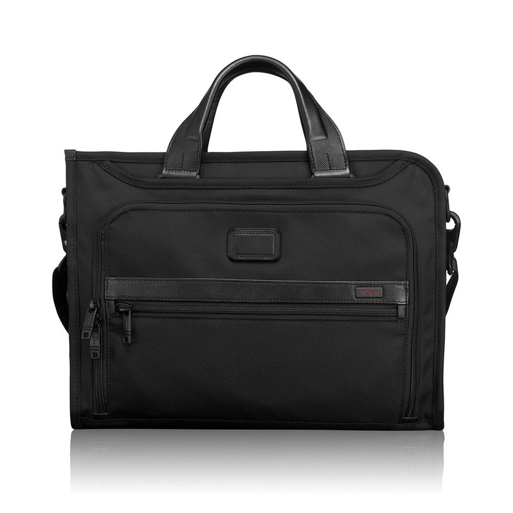 Tumi Alpha 2 Business Slim Deluxe Portfolio Black <br/>€ 345.00 <br/> <a href='http://tc.tradetracker.net/?c=10737&m=395139&a=107398&u=http%3A%2F%2Fwww.bagageonline.nl%2Ftumi-alpha-2-business-slim-deluxe-portfolio-black.html%3Futm_campaign%3Dfeed' target='_blank'>Bestellen</a>