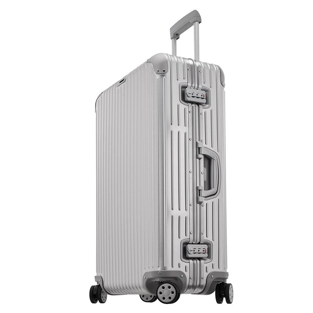 Rimowa Topas Trolley Multiwheel 78 Aluminium <br/>€ 559.00 <br/> <a href='http://tc.tradetracker.net/?c=10737&m=395139&a=107398&u=http%3A%2F%2Fwww.bagageonline.nl%2Frimowa-topas-trolley-multiwheel-78-aluminium.html%3Futm_campaign%3Dfeed' target='_blank'>Bestellen</a>