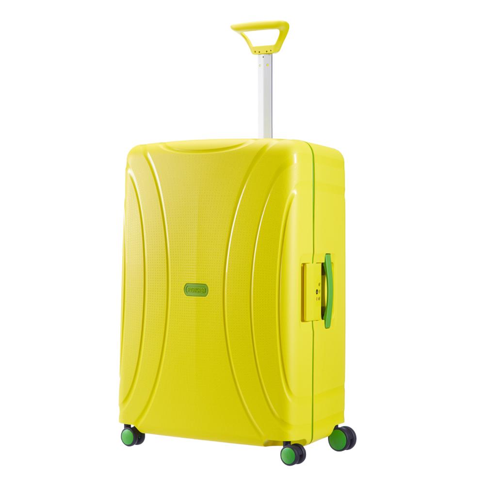 American Tourister Lock 'N' Roll Spinner 69 Sunshine Yellow