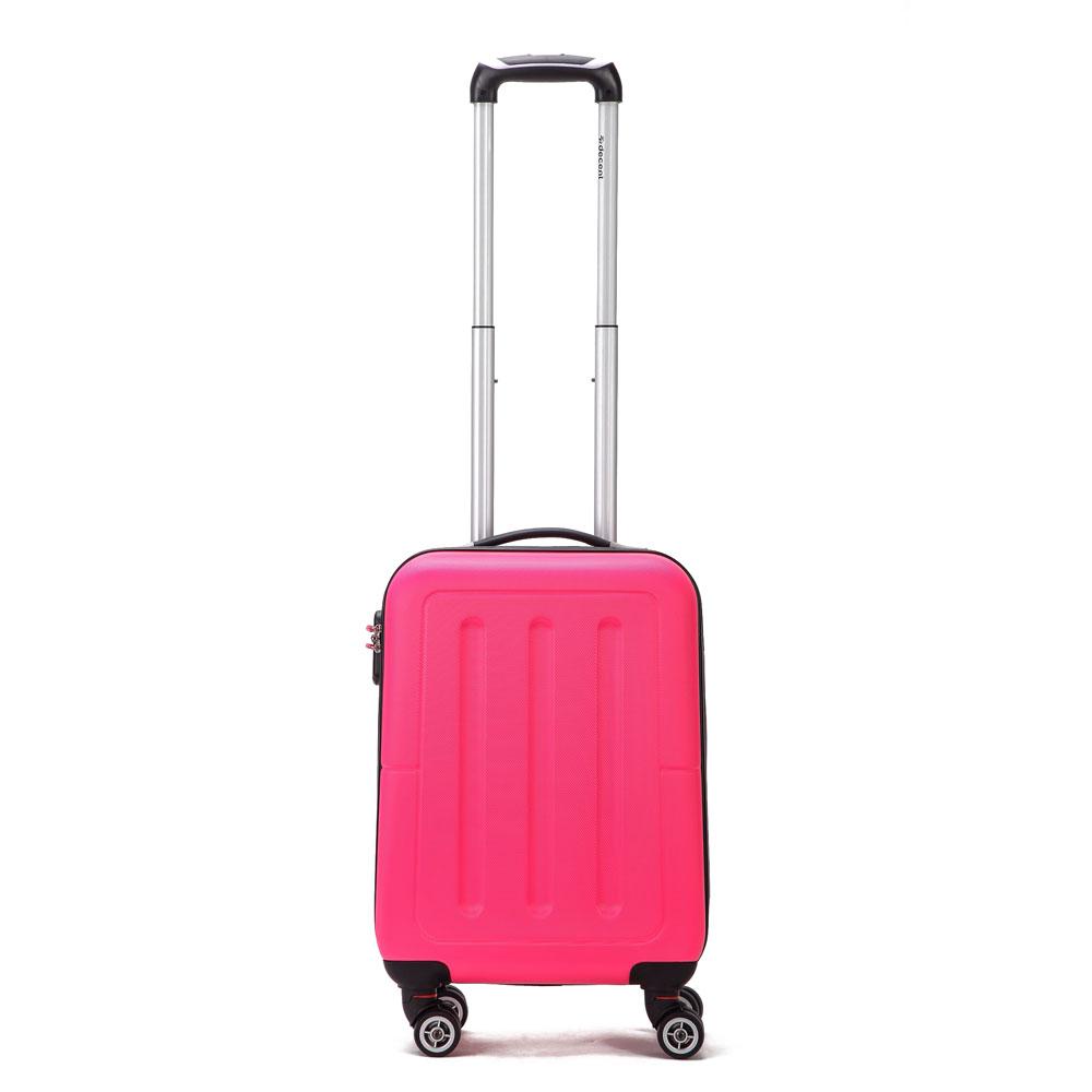 Decent Neon Fix Handbagage Koffer 50 Pink