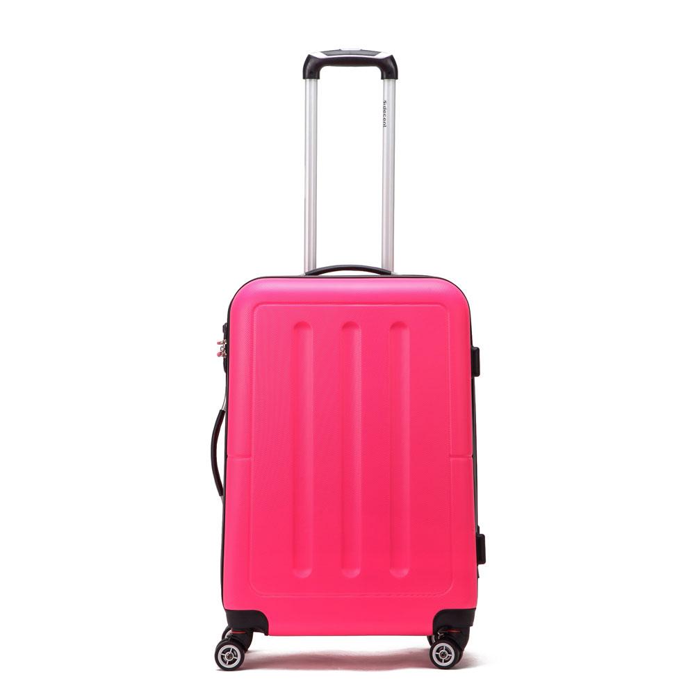 Decent Neon Fix Spinner Koffer 66 Pink