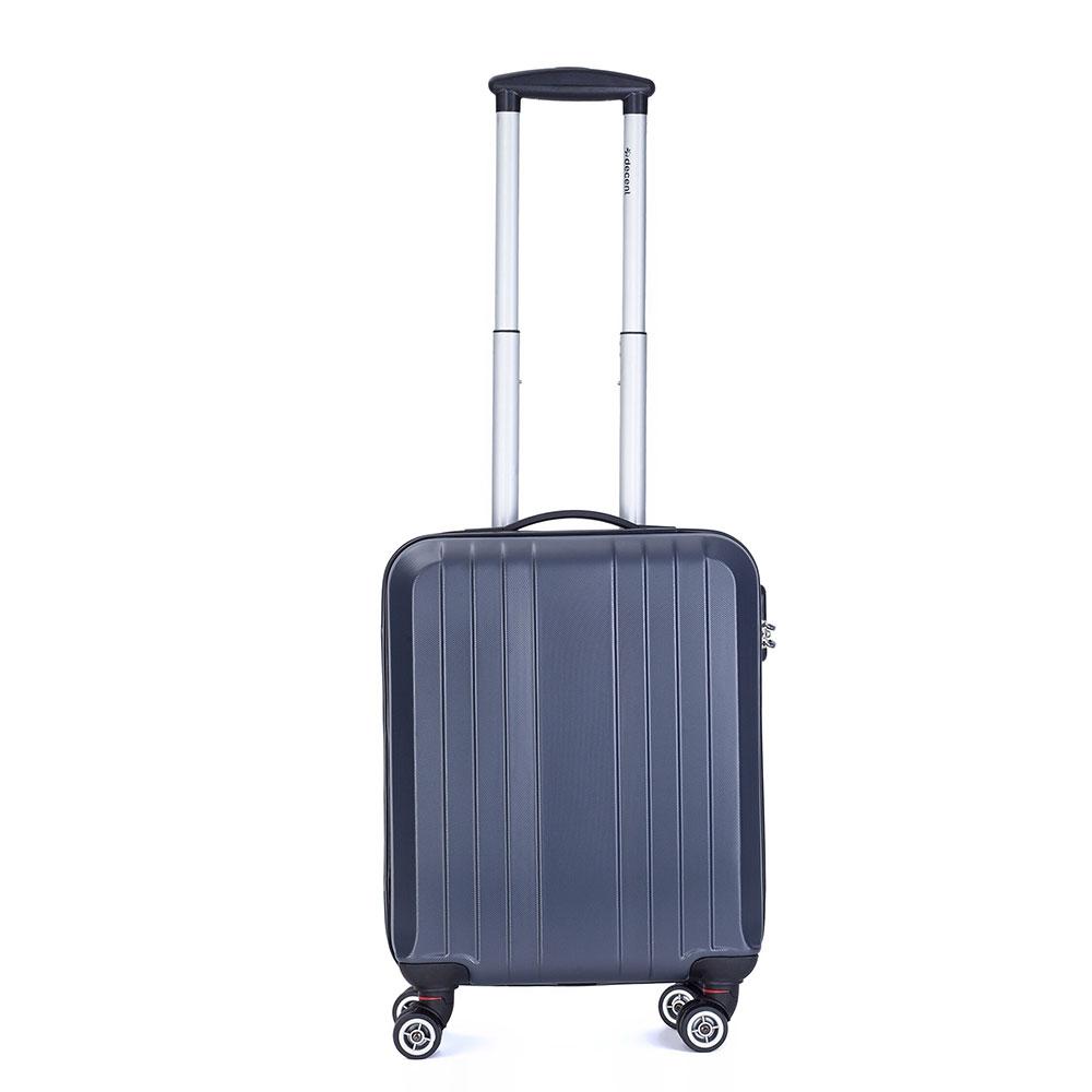 Decent Tobi Handbagage Koffer 55 Antraciet