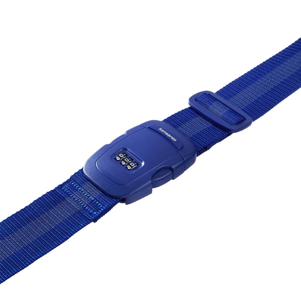Samsonite Travel Accessory 3 Combi Luggage Strap Indigo Blue