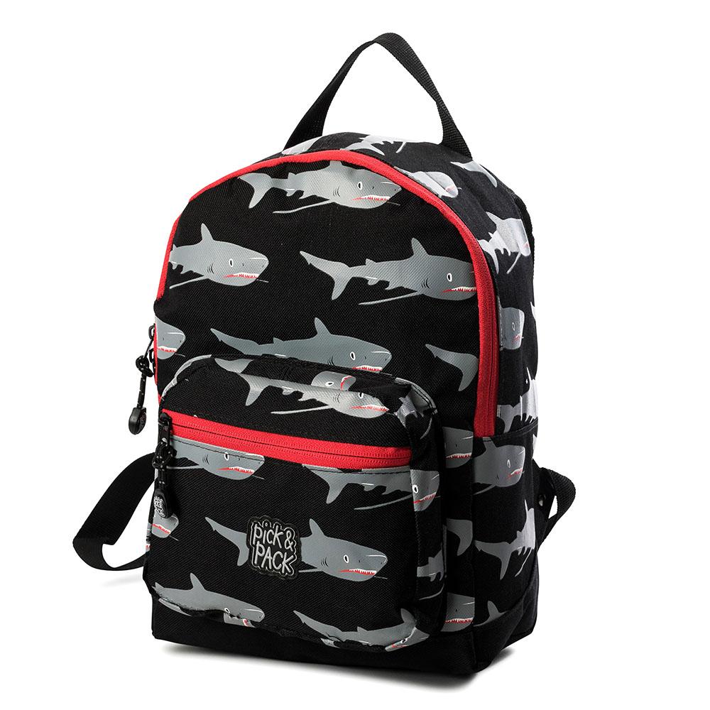 Pick & Pack Fun Rugzak Shark Black