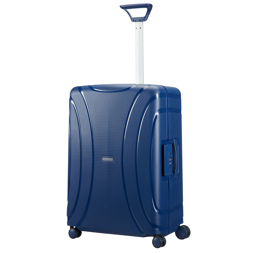 American Tourister Lock 'N' Roll Spinner 69 Nocturne Blue <br/>€ 119.00 <br/> <a href='http://tc.tradetracker.net/?c=10737&m=395139&a=107398&u=http%3A%2F%2Fwww.bagageonline.nl%2Famerican-tourister-lock-n-roll-spinner-69-nocturne-blue.html%3Futm_campaign%3Dfeed' target='_blank'>Bestellen</a>