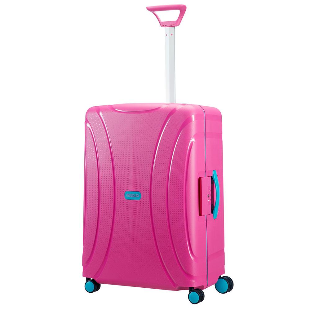 American Tourister Lock 'N' Roll Spinner 69 Summer Pink <br/>&euro; 119.00 <br/> <a href='http://tc.tradetracker.net/?c=10737&amp;m=395141&amp;a=107398&amp;u=http%3A%2F%2Fwww.bagageonline.nl%2Famerican-tourister-lock-n-roll-spinner-69-summer-pink.html%3Futm_campaign%3Dsalesfeed' target='_blank'>Bestellen</a>