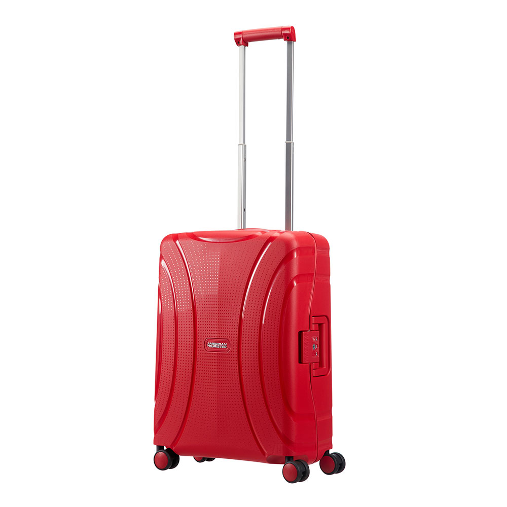 American Tourister Lock 'N' Roll Spinner 55 Formula Red