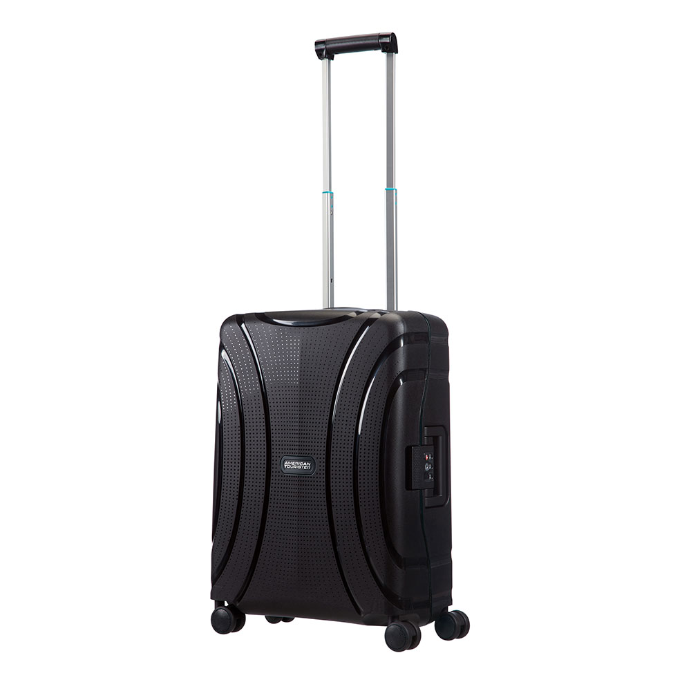 American Tourister Lock 'N' Roll Spinner 55 Jet Black