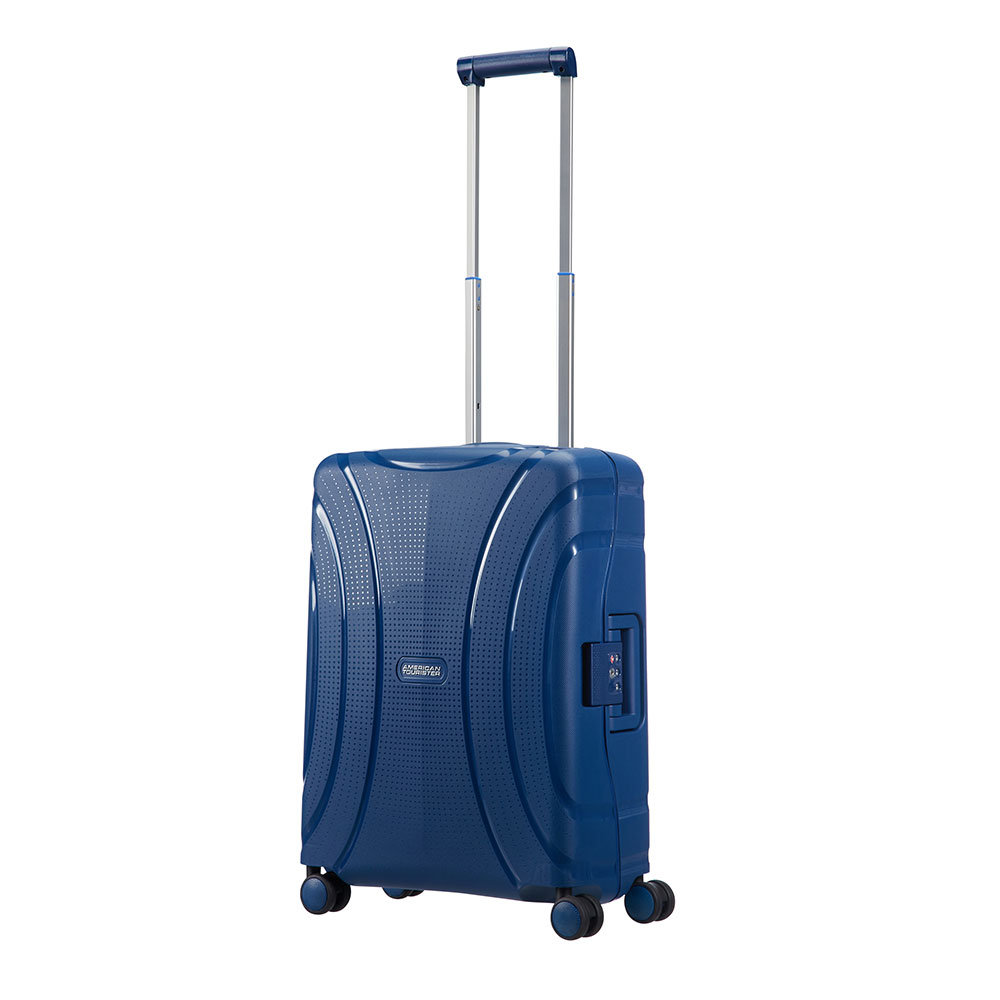 American Tourister Lock 'N' Roll Spinner 55 Nocturne Blue