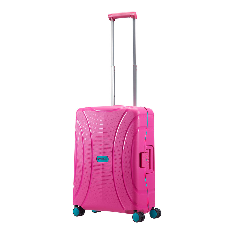 American Tourister Lock 'N' Roll Spinner 55 Summer Pink