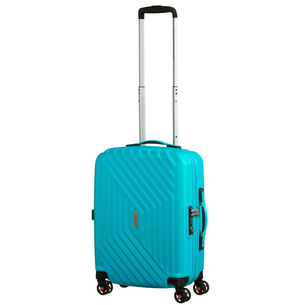 American Tourister Air Force 1 Spinner 55 Aero Turquoise
