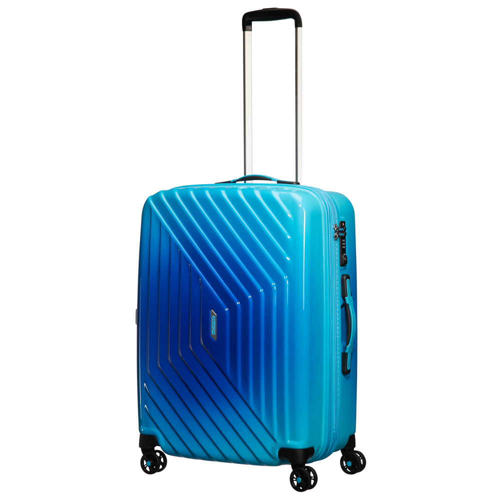 American Tourister Air Force 1 Spinner 66 Exp Gradient Blue