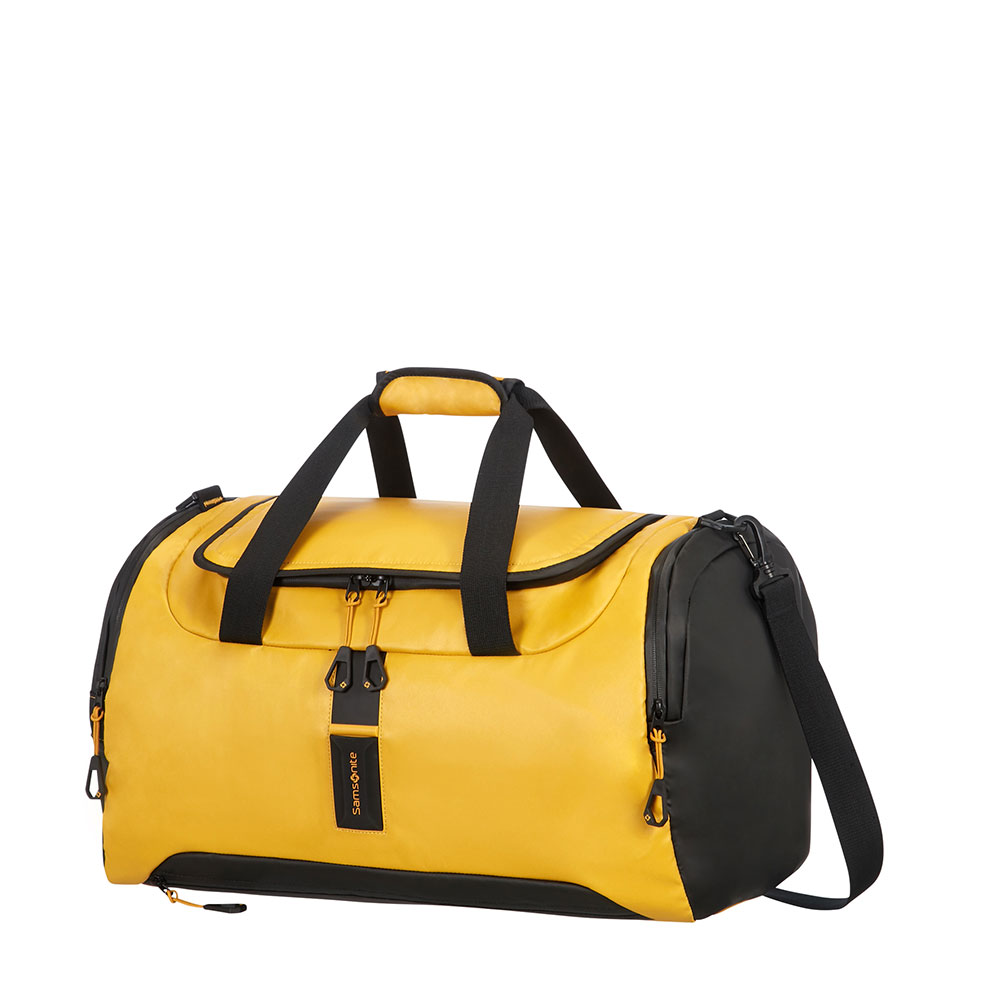 Samsonite Paradiver Light Duffle 51 Yellow <br/>€ 95.00 <br/> <a href='http://tc.tradetracker.net/?c=10737&m=395139&a=107398&u=http%3A%2F%2Fwww.bagageonline.nl%2Fsamsonite-paradiver-light-duffle-51-yellow.html%3Futm_campaign%3Dfeed' target='_blank'>Bestellen</a>