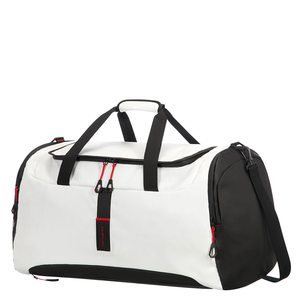 Samsonite Paradiver Light Duffle 61 White <br/>€ 105.00 <br/> <a href='http://tc.tradetracker.net/?c=10737&m=395139&a=107398&u=http%3A%2F%2Fwww.bagageonline.nl%2Fsamsonite-paradiver-light-duffle-61-white.html%3Futm_campaign%3Dfeed' target='_blank'>Bestellen</a>