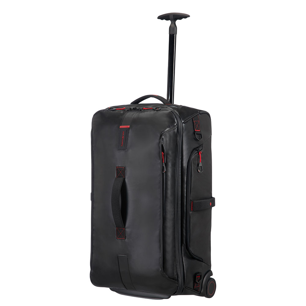 Samsonite Paradiver Light Duffle Wheels 67 Black <br/>€ 205.00 <br/> <a href='http://tc.tradetracker.net/?c=10737&m=395139&a=107398&u=http%3A%2F%2Fwww.bagageonline.nl%2Fsamsonite-paradiver-light-duffle-wheels-67-black.html%3Futm_campaign%3Dfeed' target='_blank'>Bestellen</a>