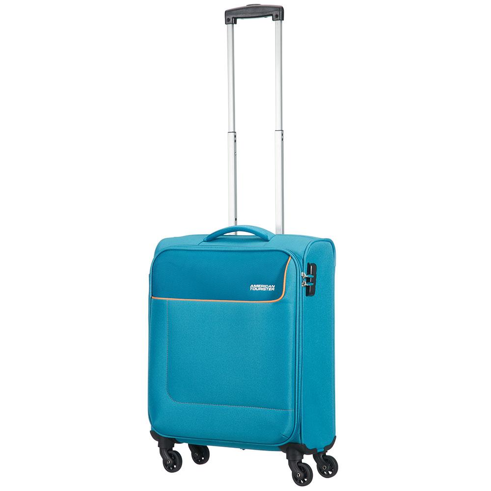American Tourister Funshine Spinner 55 Blue Ocean