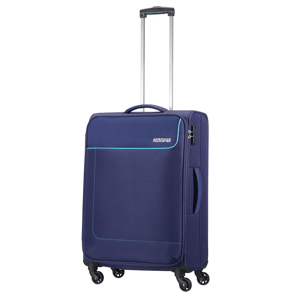 American Tourister Funshine Spinner 66 Orion Blue <br/>€ 79.00 <br/> <a href='http://tc.tradetracker.net/?c=10737&m=395139&a=107398&u=http%3A%2F%2Fwww.bagageonline.nl%2Famerican-tourister-funshine-spinner-66-orion-blue.html%3Futm_campaign%3Dfeed' target='_blank'>Bestellen</a>
