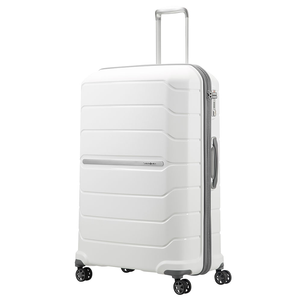 Samsonite Flux Spinner 81 Expandable White <br/>€ 209.00 <br/> <a href='http://tc.tradetracker.net/?c=10737&m=395139&a=107398&u=http%3A%2F%2Fwww.bagageonline.nl%2Fsamsonite-flux-spinner-81-expandable-white.html%3Futm_campaign%3Dfeed' target='_blank'>Bestellen</a>