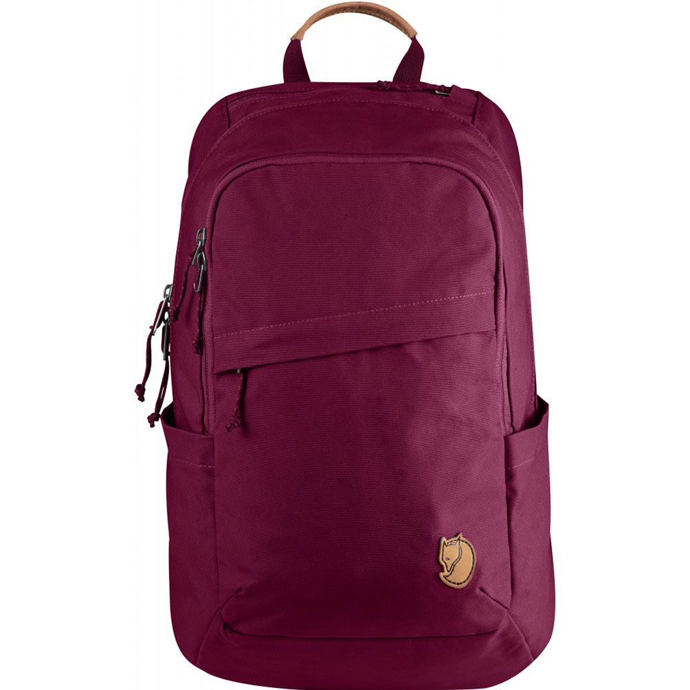 Foto van FjallRaven Raven 20 L Backpack Plum