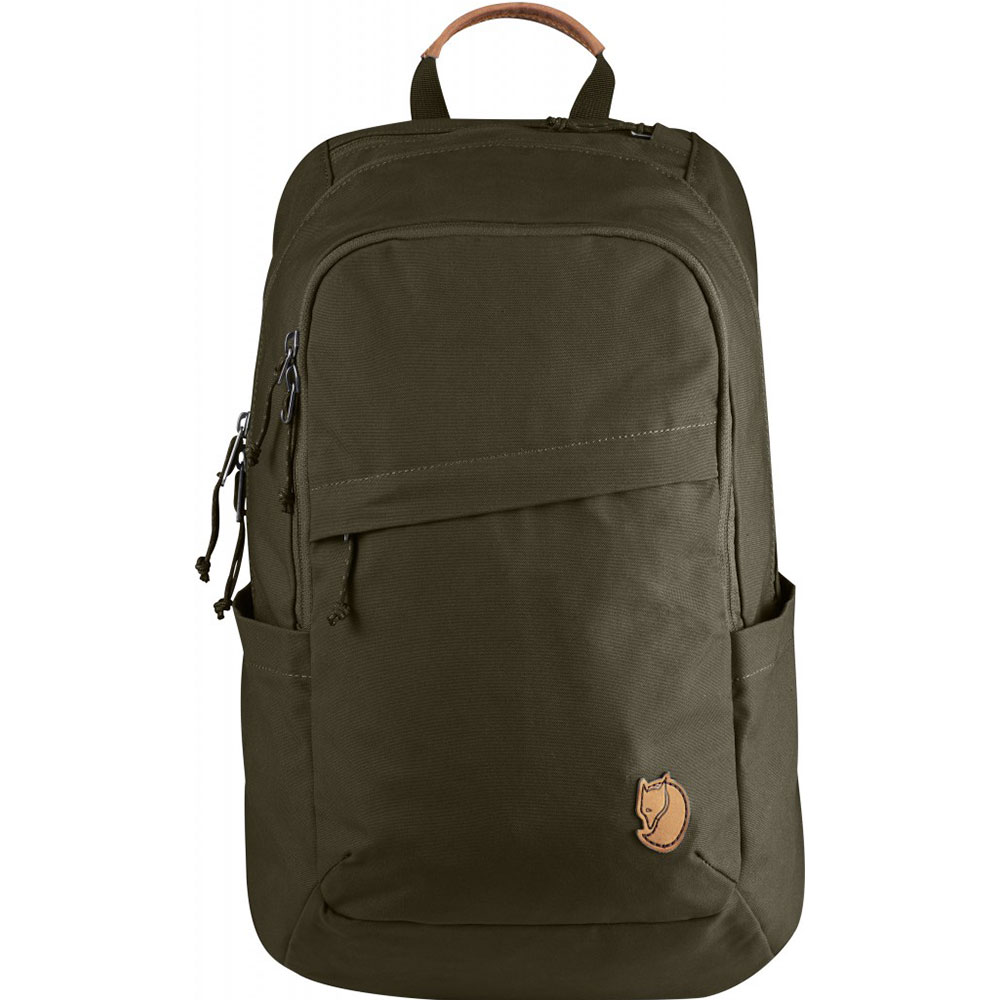 Foto van FjallRaven Raven 20 L Backpack Dark Olive