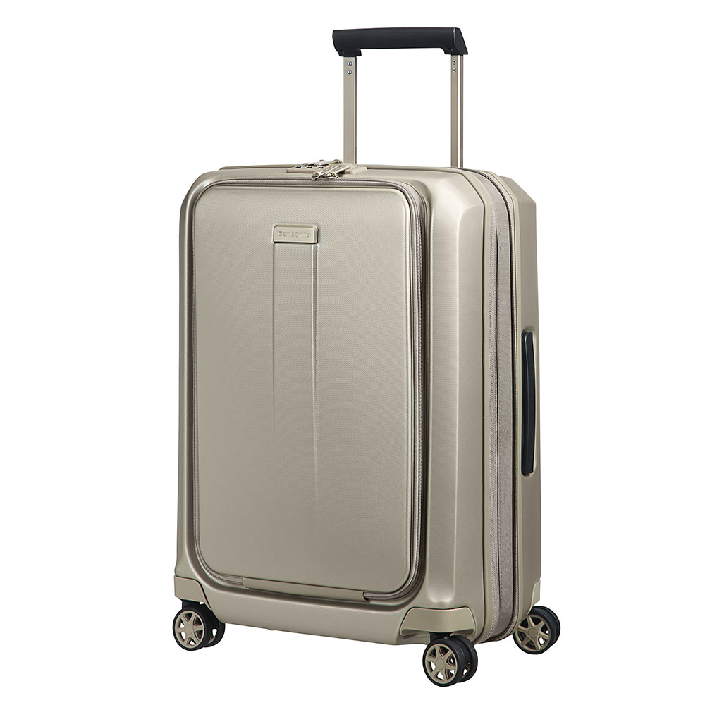 Samsonite Prodigy Spinner 55 Exp Ivory Gold
