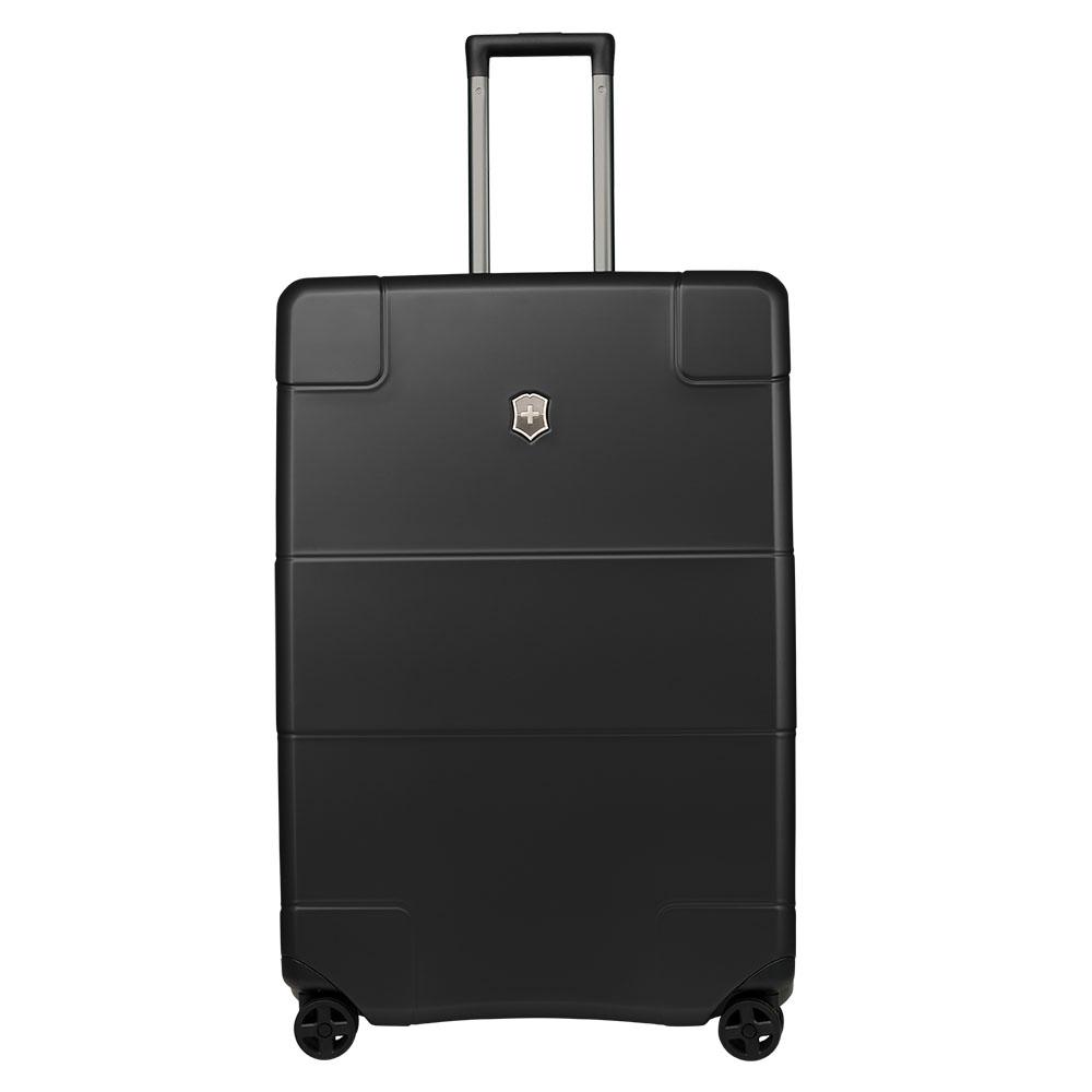 Victorinox Lexicon Hard Side Large Case 75 Black <br/>€ 525.00 <br/> <a href='http://tc.tradetracker.net/?c=10737&m=395139&a=107398&u=http%3A%2F%2Fwww.bagageonline.nl%2Fvictorinox-lexicon-hard-side-large-case-75-black.html%3Futm_campaign%3Dfeed' target='_blank'>Bestellen</a>