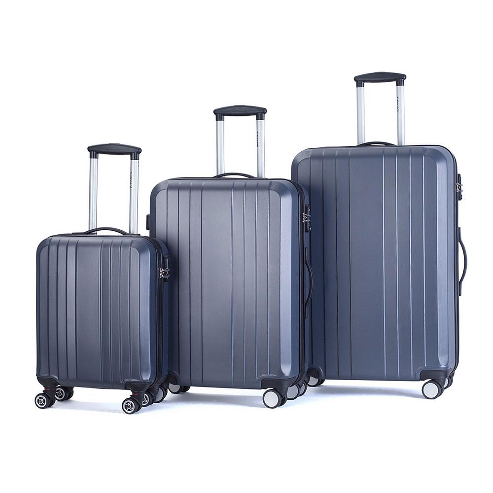 Decent Tobi 3-Delige Kofferset Antraciet