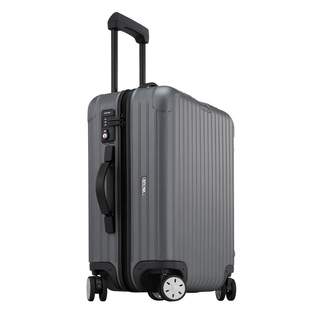 rimowa salsa cabin trolley multiwheel 56 grey matte. Black Bedroom Furniture Sets. Home Design Ideas
