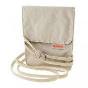 Samsonite Travel Accessoires Triple Pocket Nek Pouch Beige