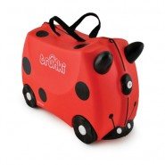 Trunki Ride-On Kinderkoffer Harley het Lieveheersbeestje