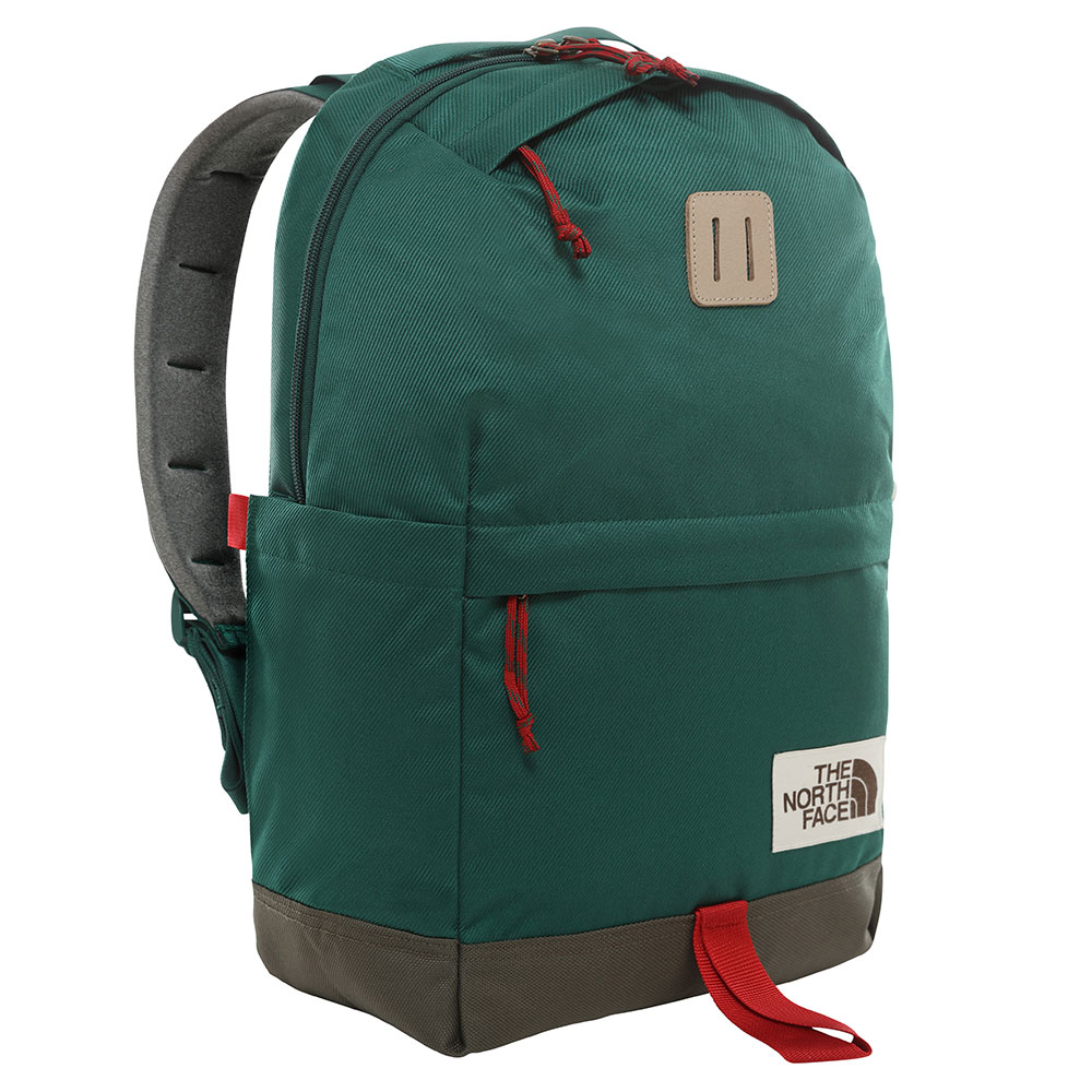 The North Face Daypack Backpack Night Green/ New Taupe Green