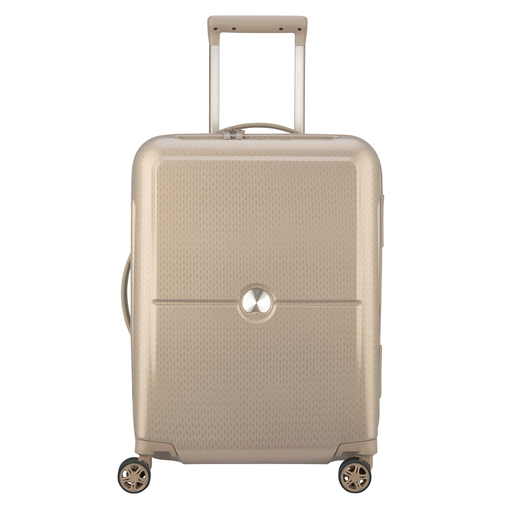 Delsey Turenne Cabin Trolley Slim 4 Wheel 55 Gold