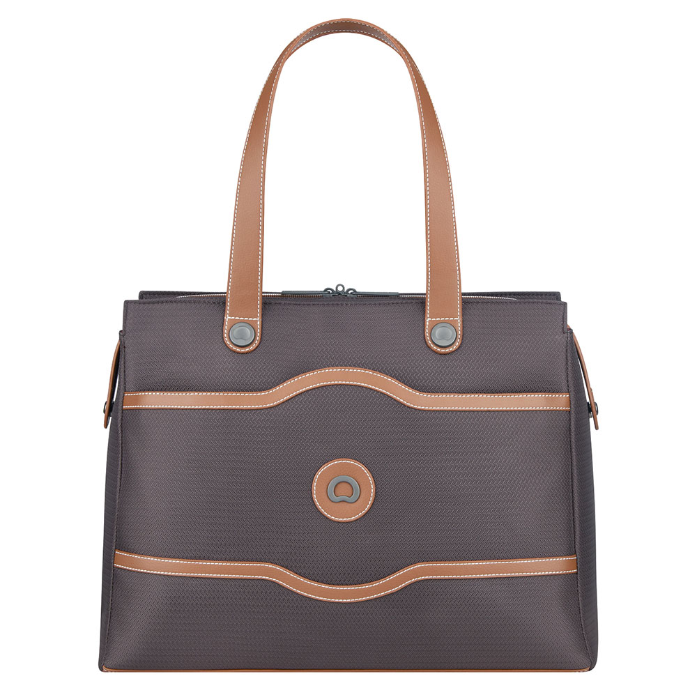 Delsey Chatelet Air Soft Lady Shopping Bag 15.6'' Chocolate