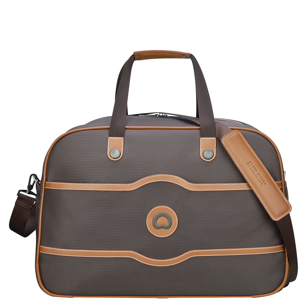 Delsey Chatelet Air Soft Cabin Duffle Bag Chocolate
