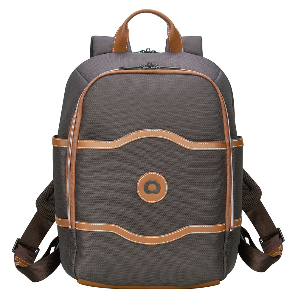 Delsey Chatelet Air Soft 2-CPT Backpack S 15.6'' Chocolate
