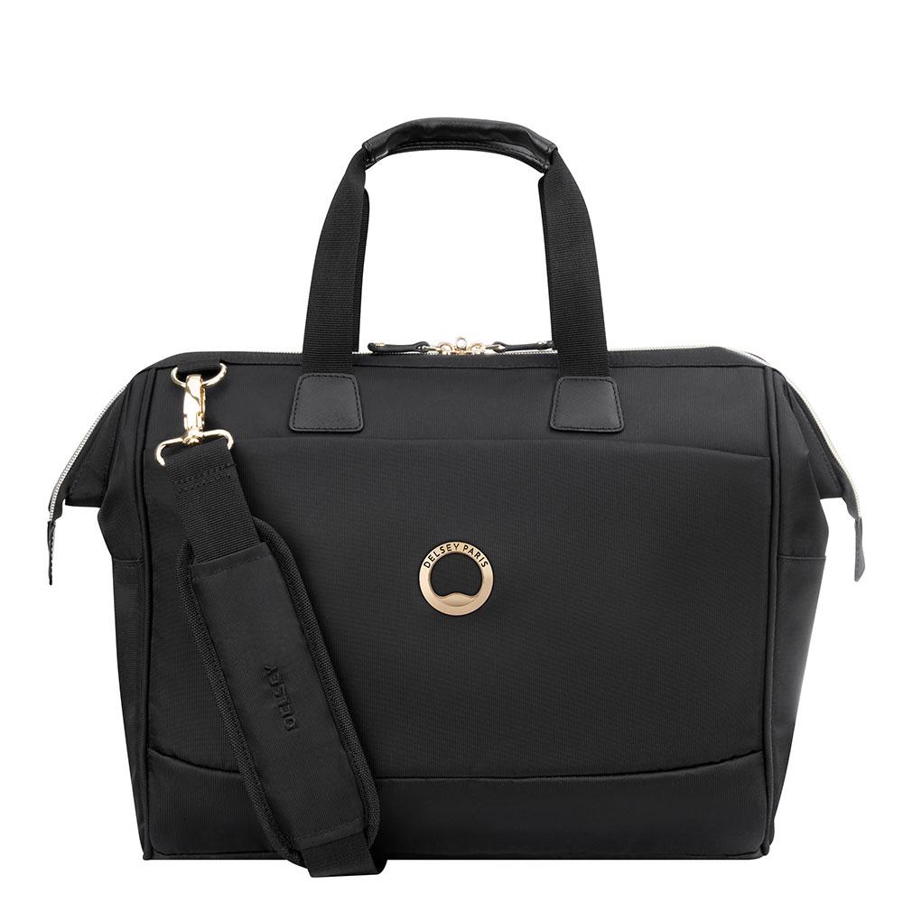 Delsey Montrouge 1-CPT Laptoptas 14'' Black
