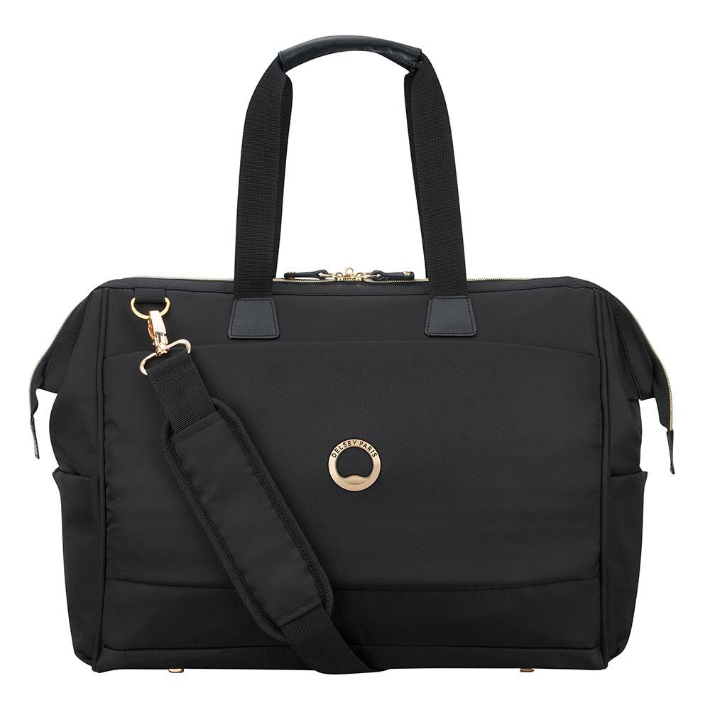 Delsey Montrouge Tote Reporter Bag Black