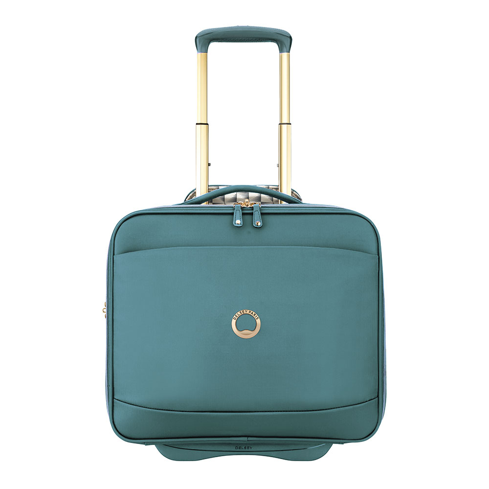 Delsey Montrouge Cabin Laptop Trolley Boardcase 15.6'' Green