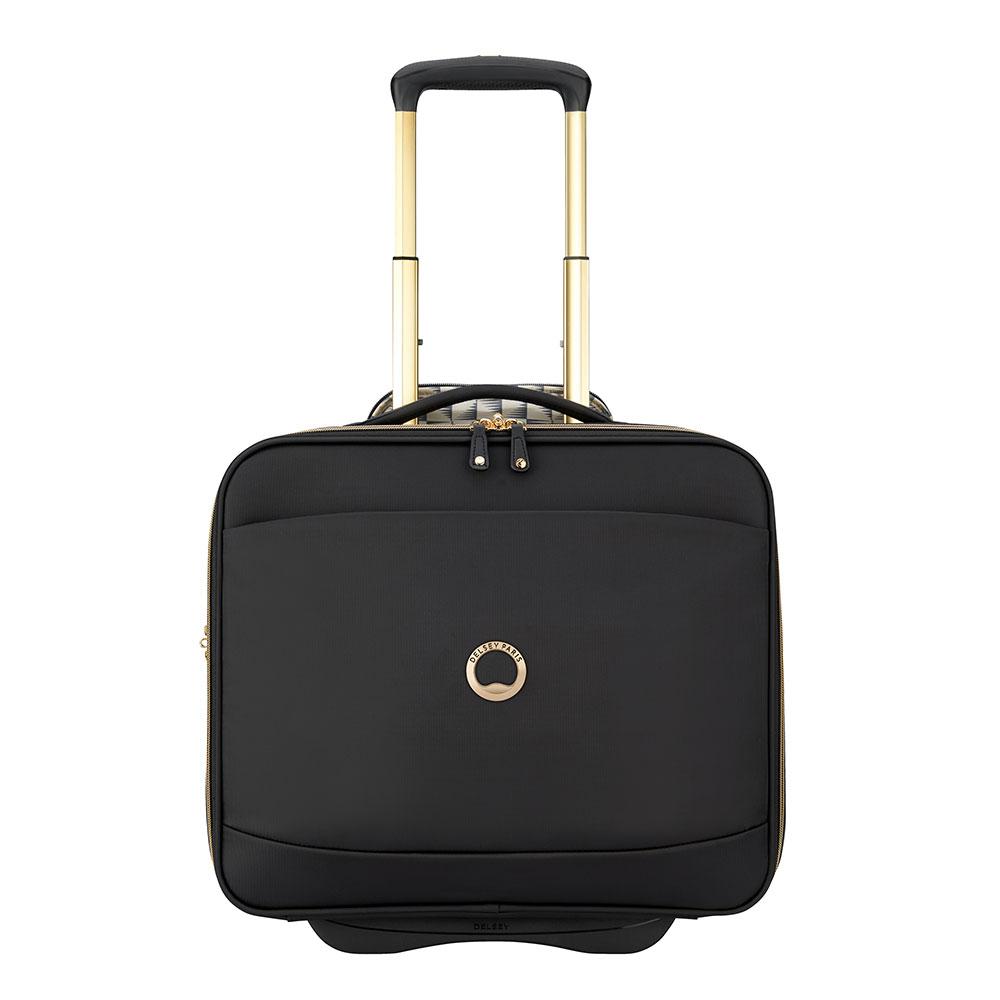 Delsey Montrouge Cabin Laptop Trolley Boardcase 15.6'' Black