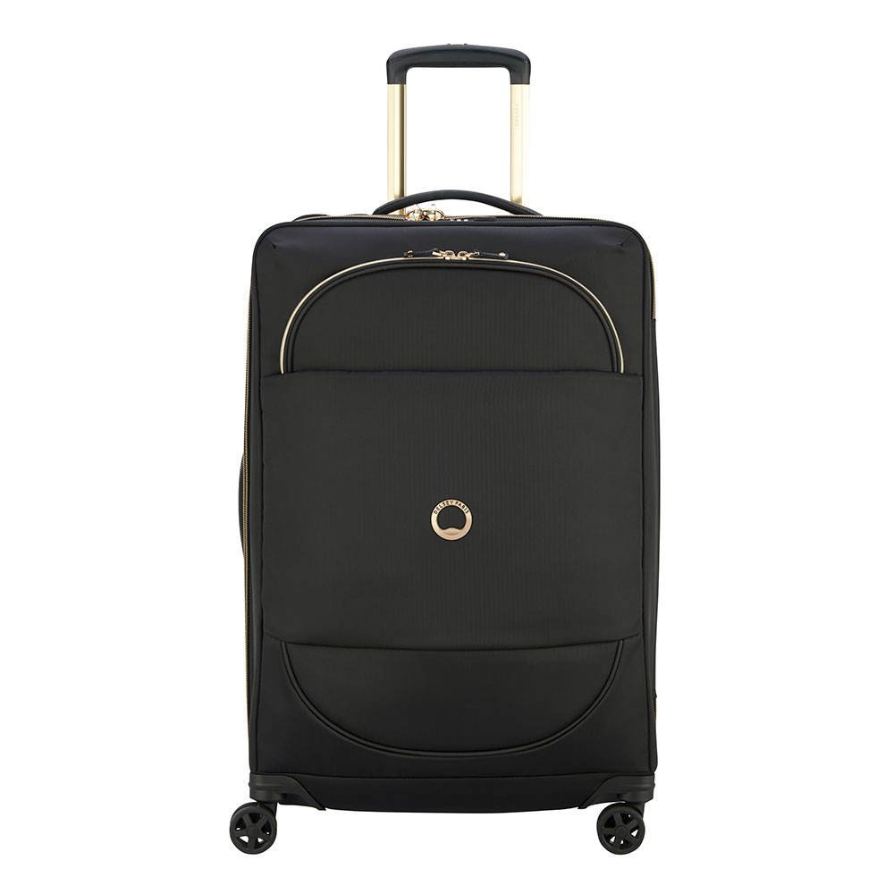 Delsey Montrouge Trolley Case 4 Wheel 69 Expandable Black