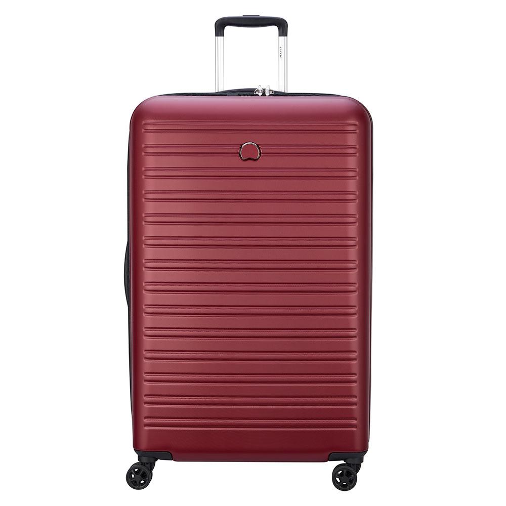 Delsey Segur 2.0 Trolley Case 4 Wheel 81 Red