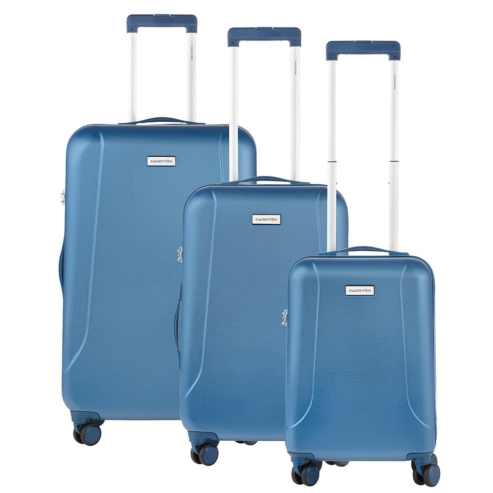 CarryOn Skyhopper 3-Delige Kofferset Cool Blue