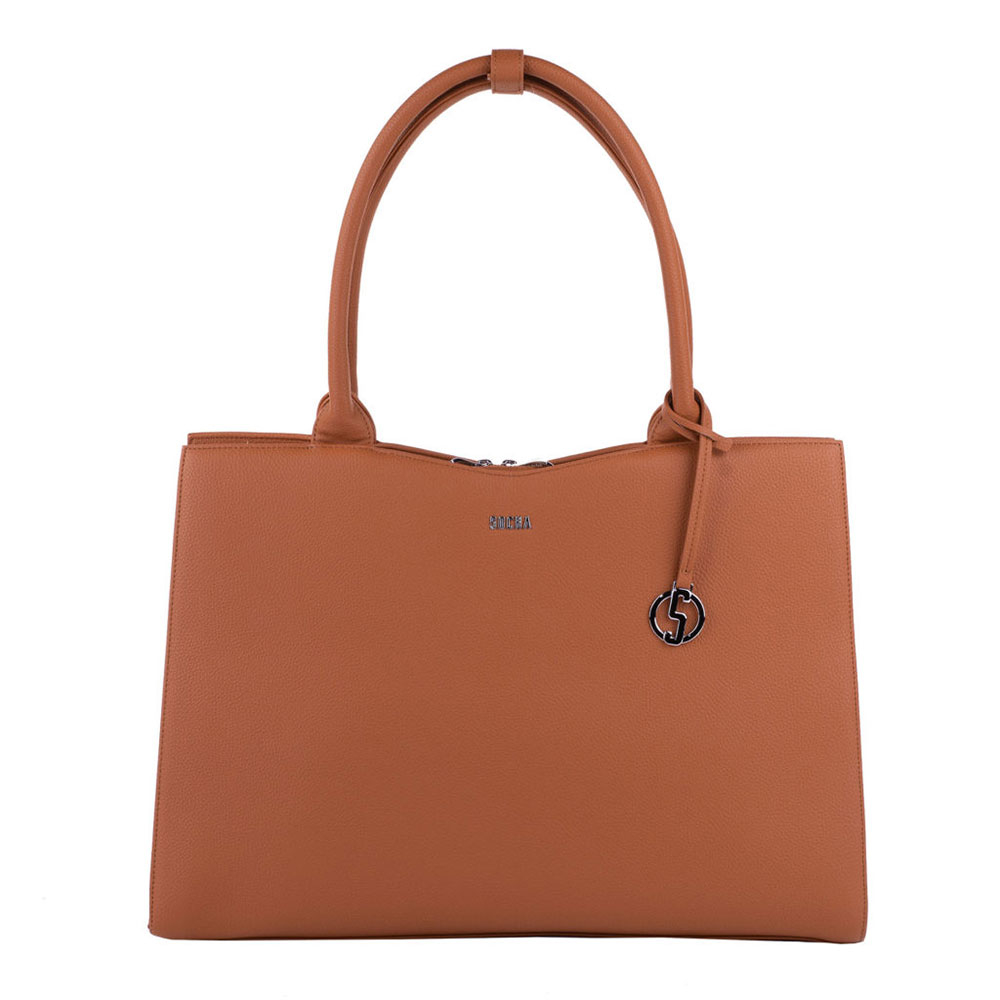 Socha Businessbag Straight Line 14-15.6 Cognac