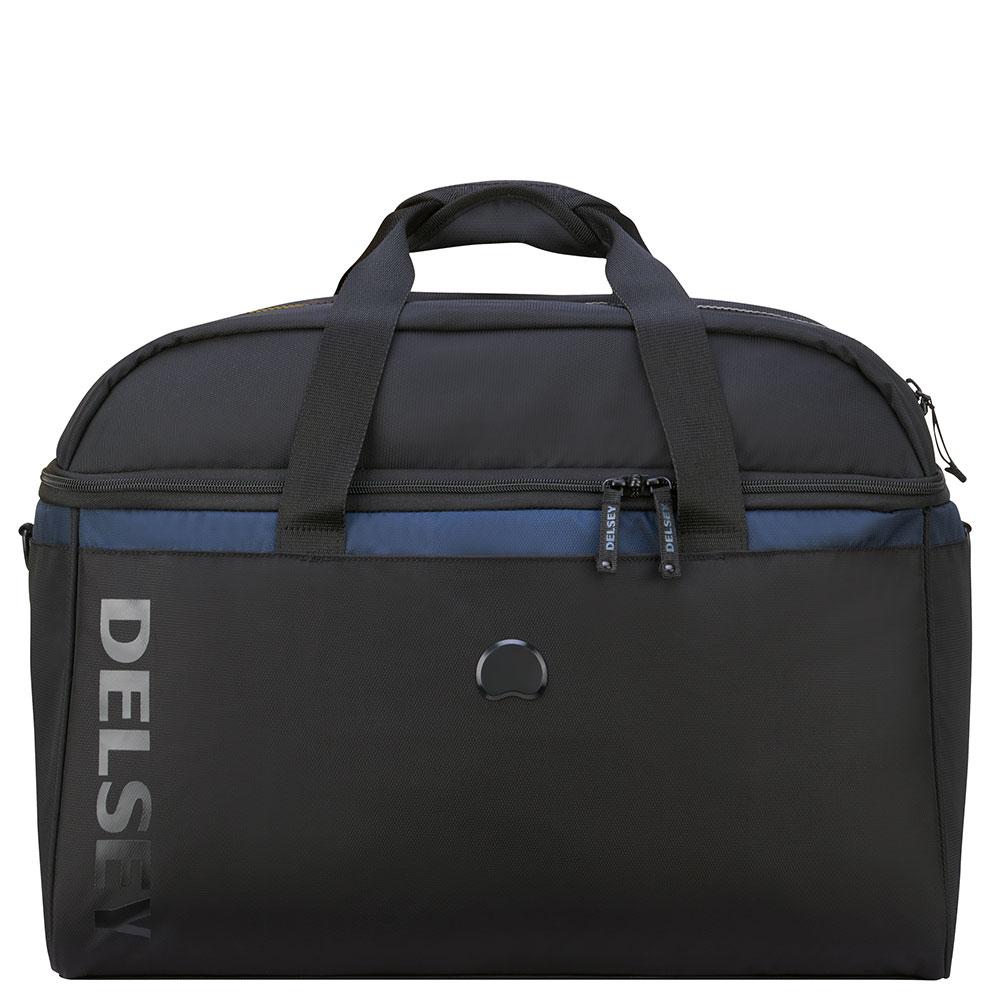 Delsey Egoa Cabin Duffle Bag 45 CM Black