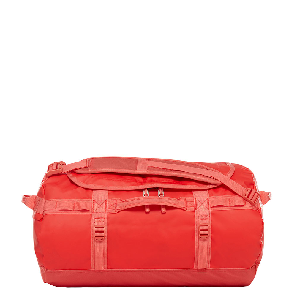The North Face Base Camp Duffel S juicy red-spiced coral Weekendtas