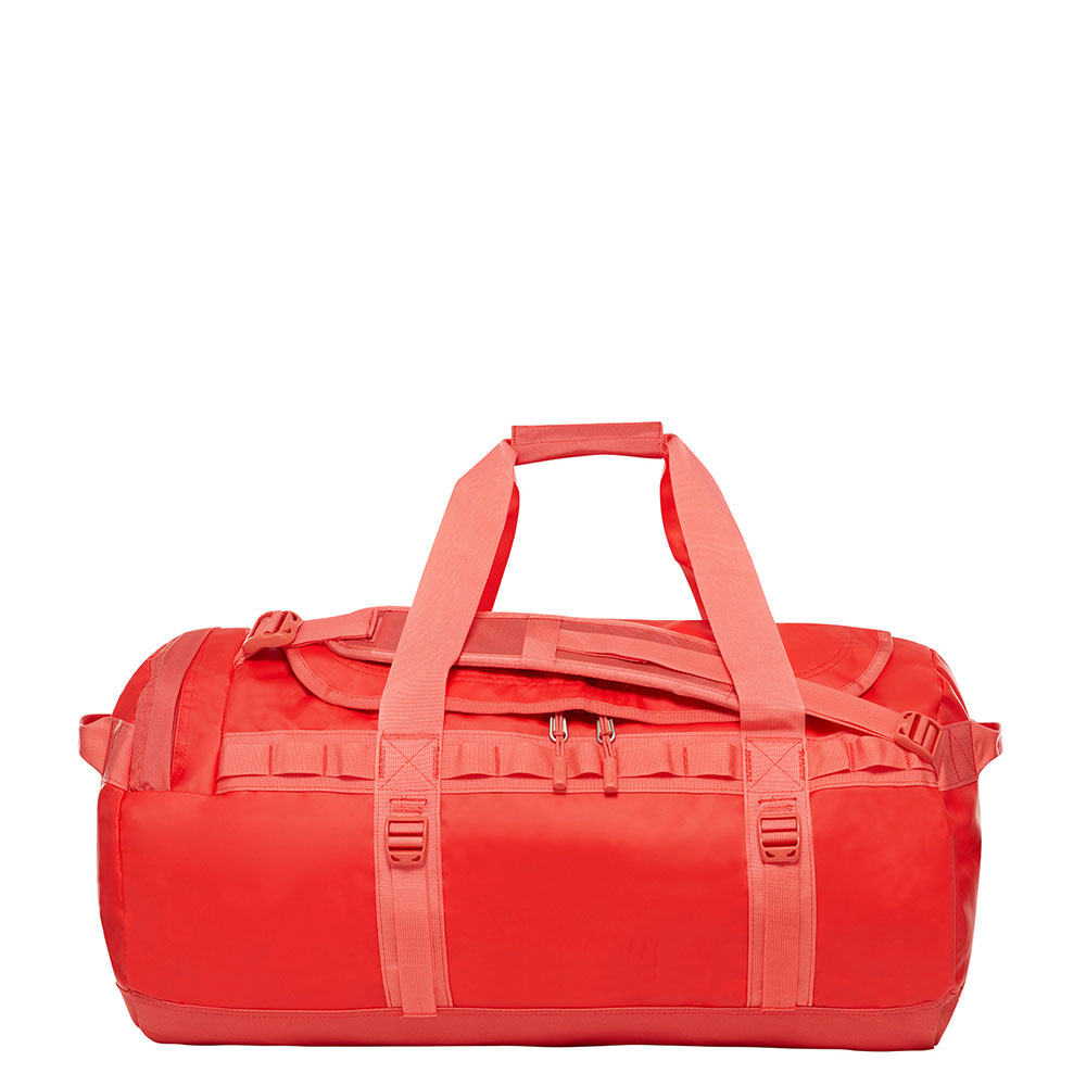The North Face Base Camp Duffel M juicy red-spiced coral Weekendtas
